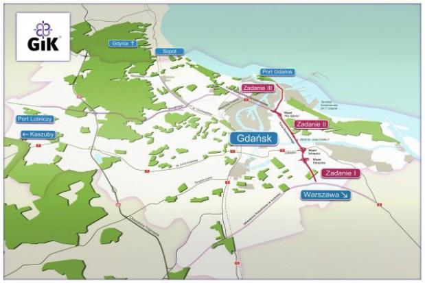 Oddanie do użytku gdańskiej trasy