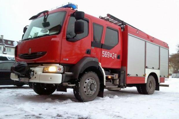 Nowy samochód gaśniczy OSP Jeziorna