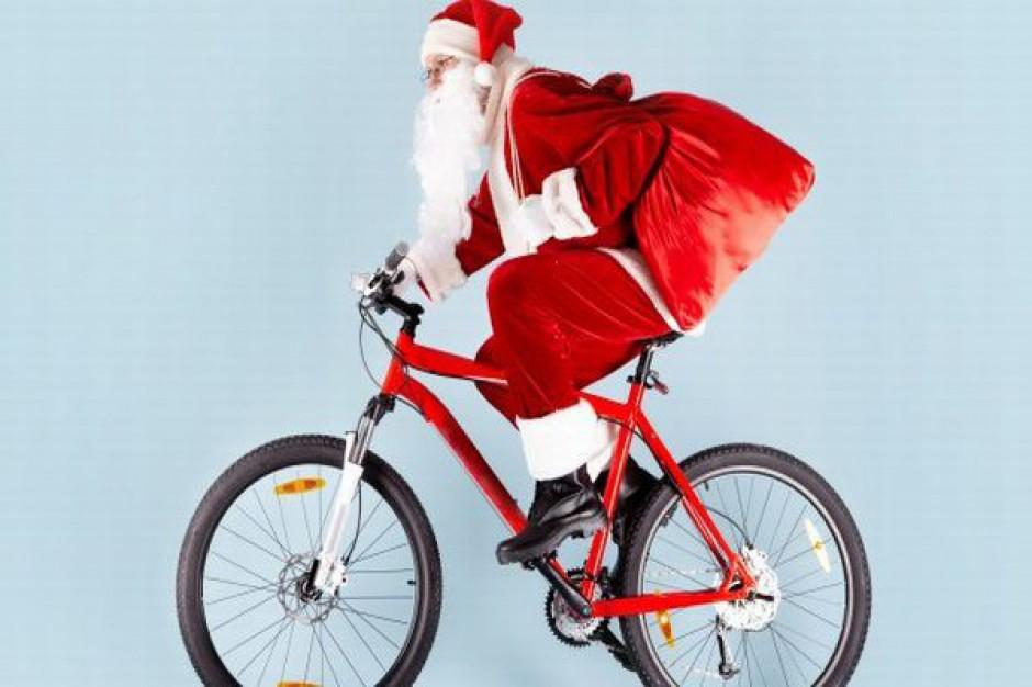 Najcieplej jest na... rowerze?