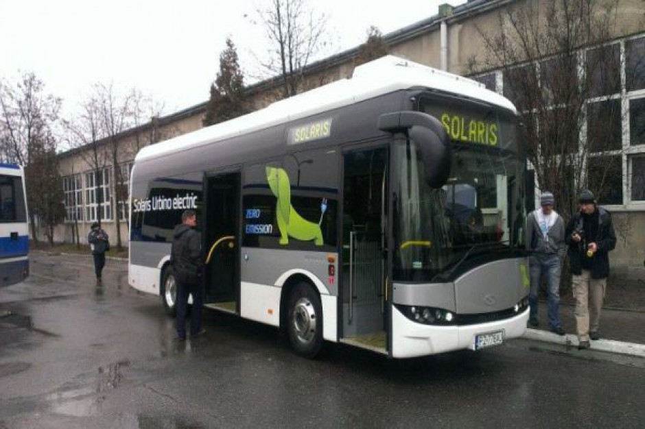 Autobus na baterie jeździ po Krakowie