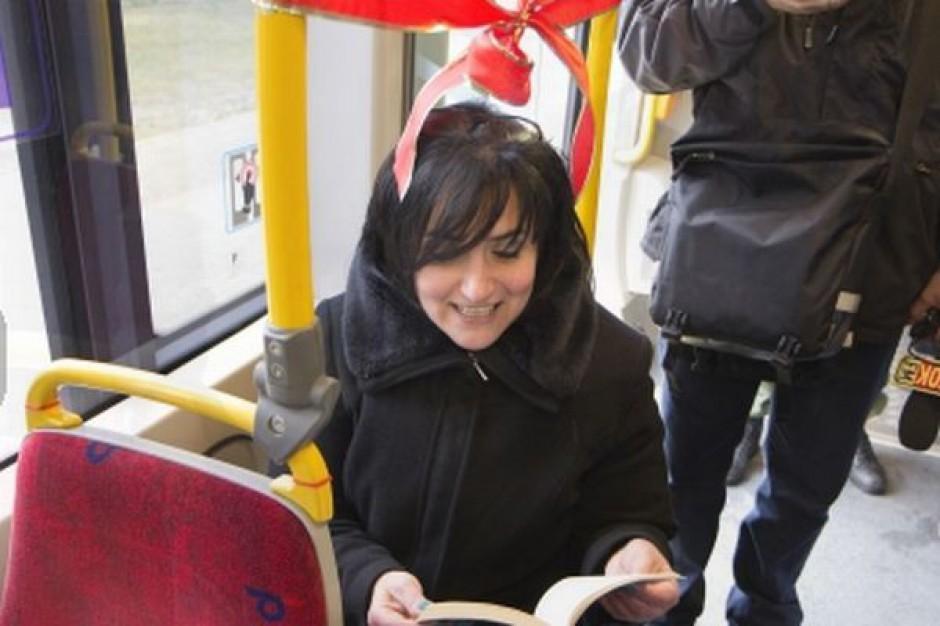 Czytelnie w gdańskich tramwajach