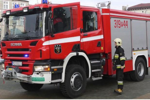 Nowy samochód gaśniczy OSP Kobylnica