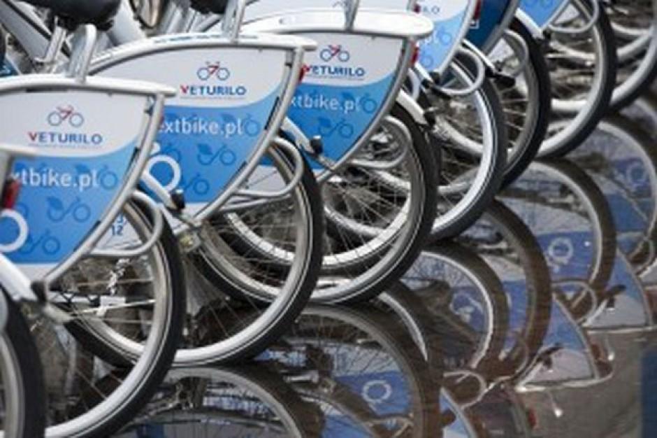 Wiosną przybędzie stacji wypożyczania rowerów