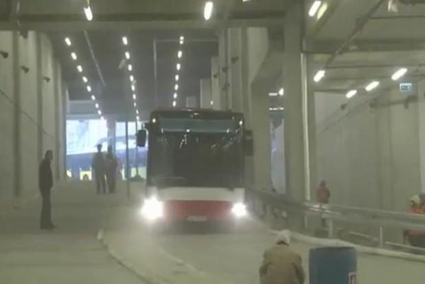 534 autobusy pod katowickim dworcem