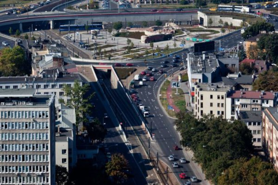 Przebudowa ciągu drogowo-tramwajowego w Krakowie