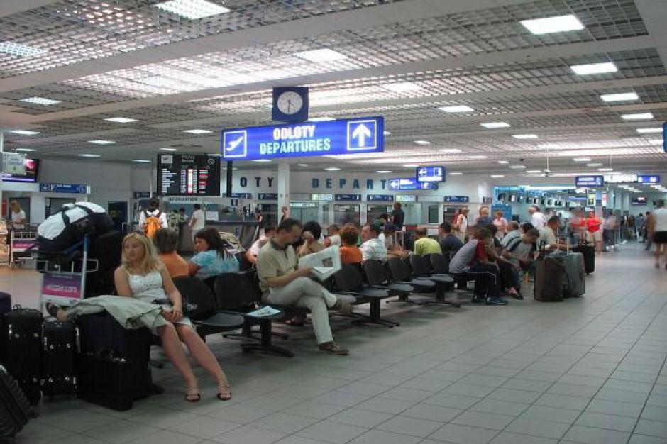 Mniej pasażerów na lotnisku w Pyrzowicach