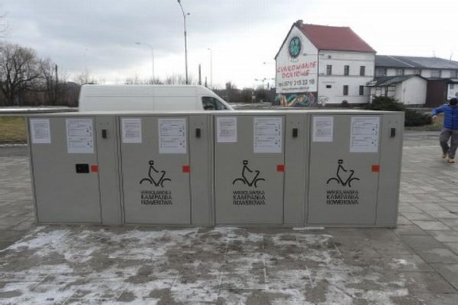 Park and Bike, czyli rowerowe boksy we Wrocławiu