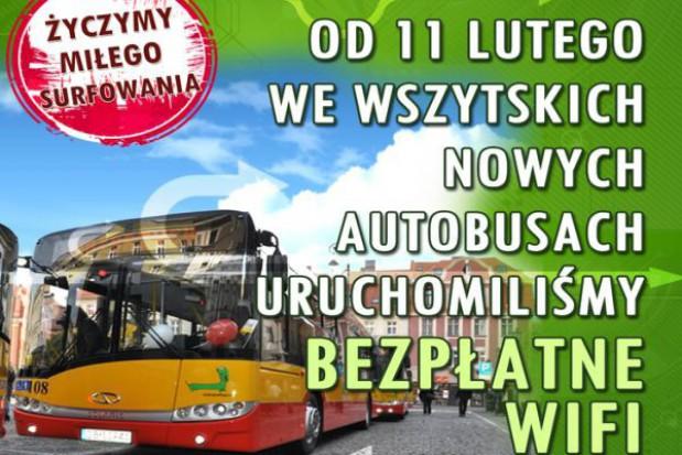 Internet w autobusach? Tak jest w Wałbrzychu