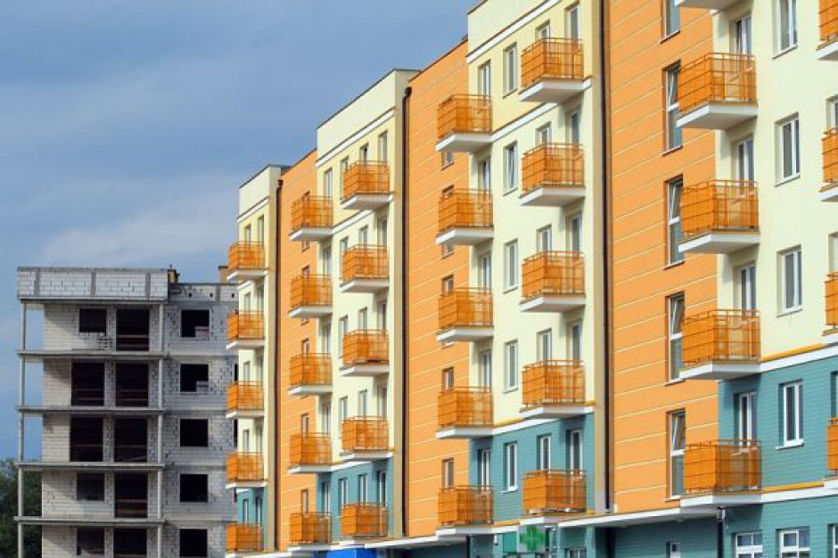 Wzrosła liczba oddanych do użytku mieszkań
