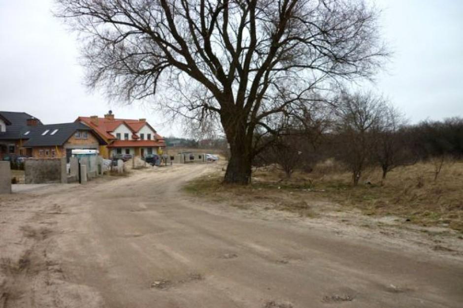 Ważna gminna ulica doczeka się częściowej modernizacji