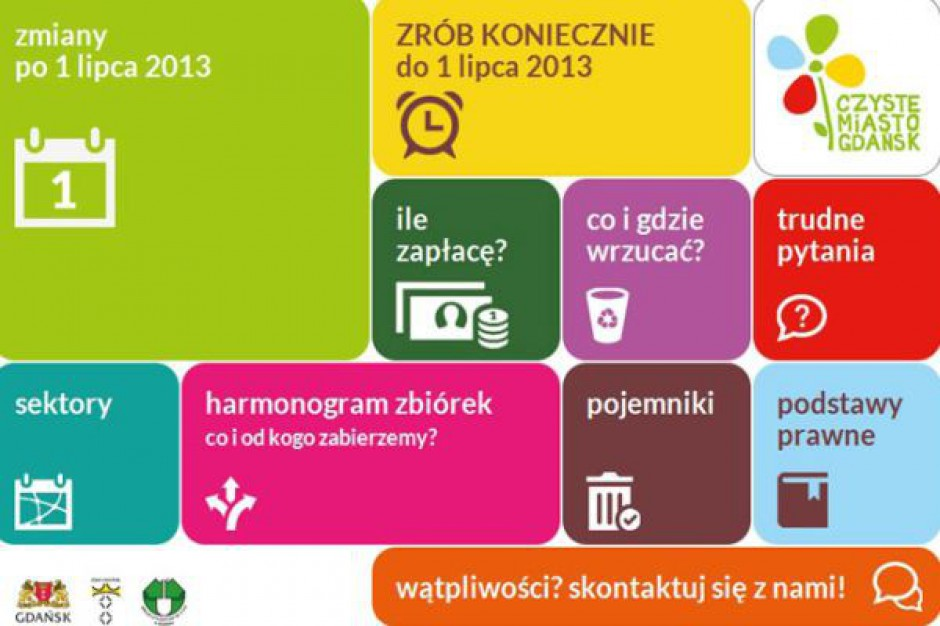 Gdańsk uruchomił stronę internetową o śmieciach