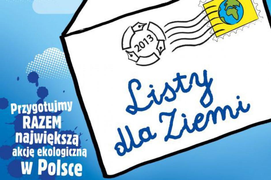 """Ekologiczna akcja """"Listy dla Ziemi"""" w Mysłowicach"""