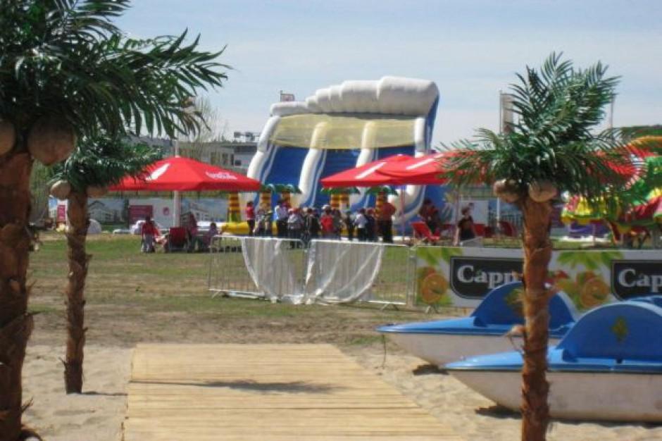 Warszawski Wilanów szykuje na majówkę nową plażę
