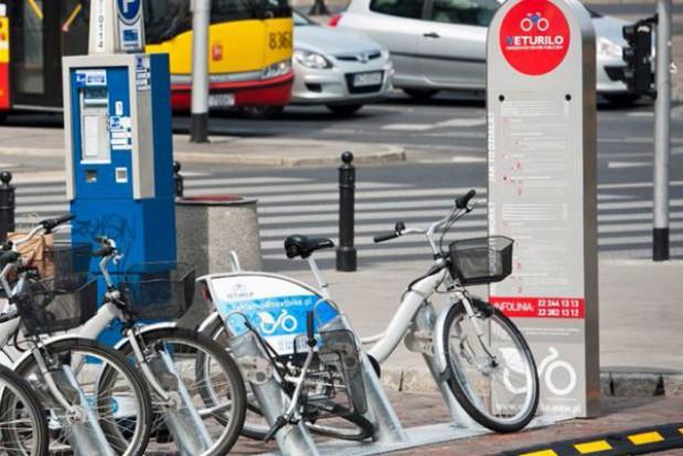 Wiosna w Konstancinie dla rowerzystów