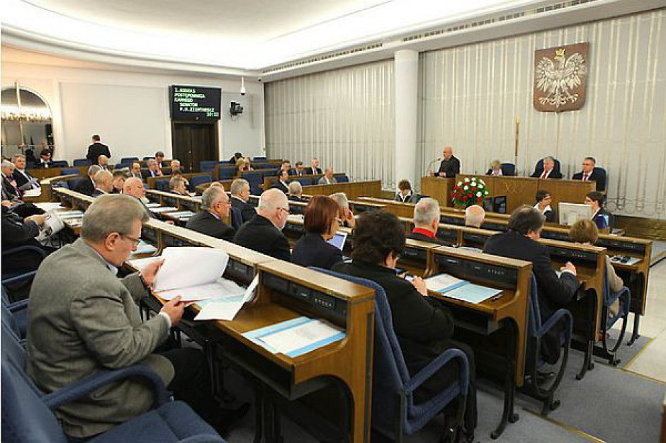 Chcą blokować złe ustawy Sejmu