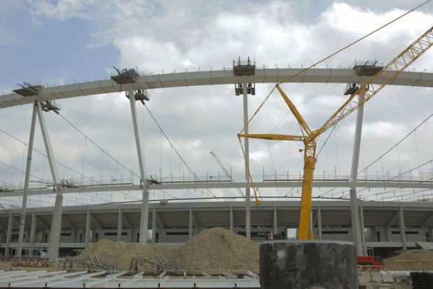 Zadaszenie Stadionu Śląskiego za ponad 121 mln