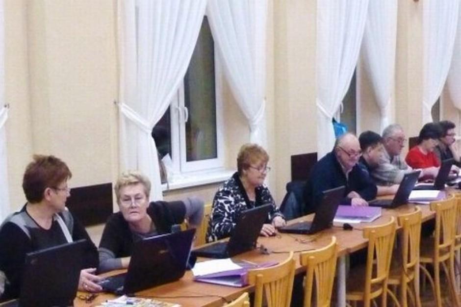 Gmina Świdnica promuje internet wśród seniorów