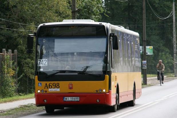 Konstancin: od kwietnia 742 tylko do Wilanowa