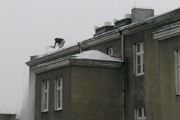 Właściciele muszą pamiętać o usunięciu śniegu