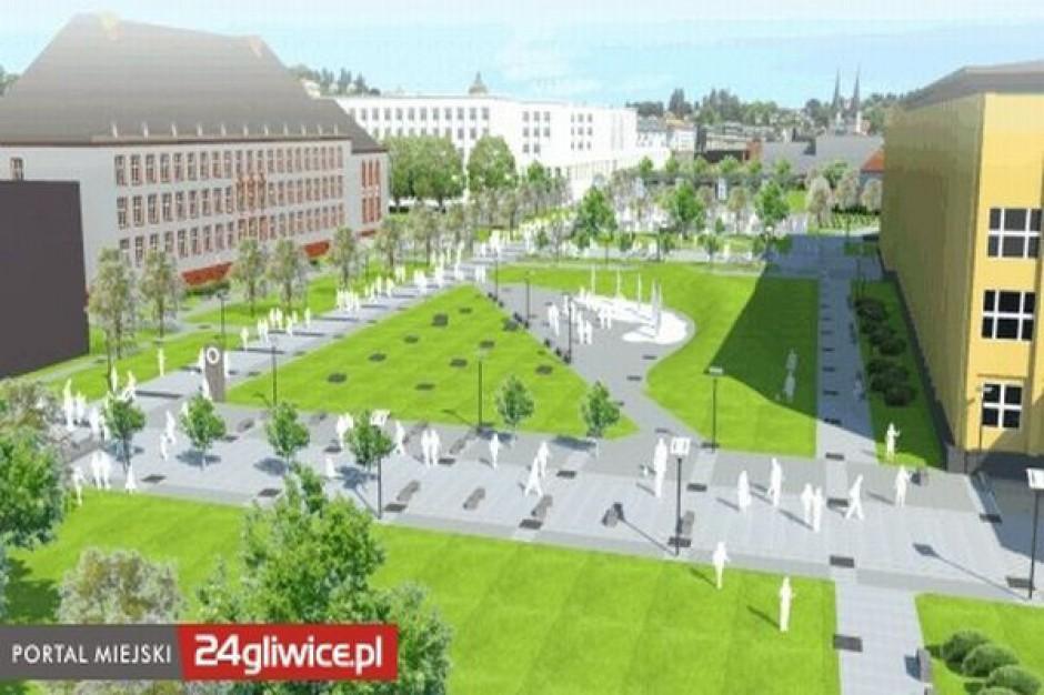 Deptak w Gliwicach ze znacznym poślizgiem
