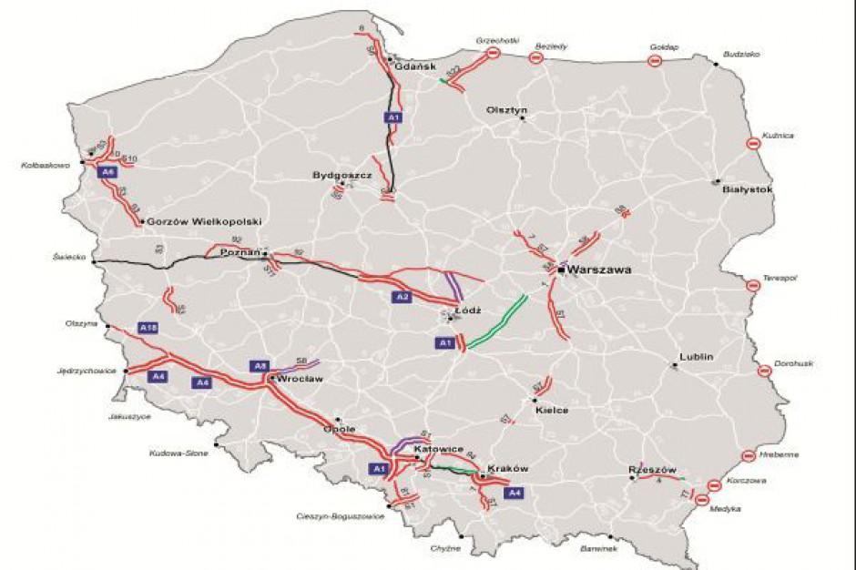 Kolejne kilometry płatnych dróg