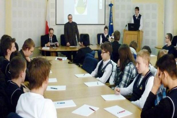 Młodzież o ekorozwoju w Suwałkach