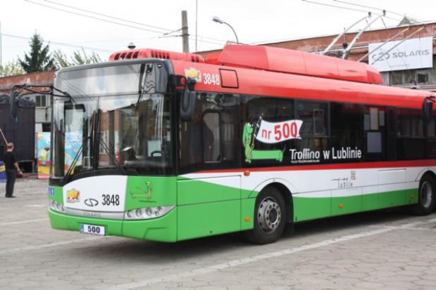 Lublin polubił trolejbusy