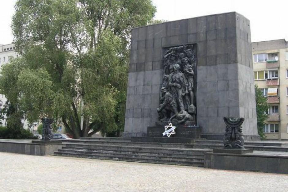 Uroczystości z okazji rocznicy powstania w getcie warszawskim