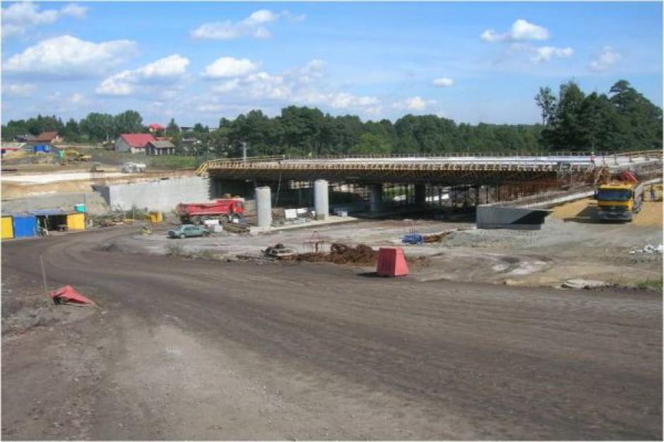Prace na moście na A1 w Mszanie trwają