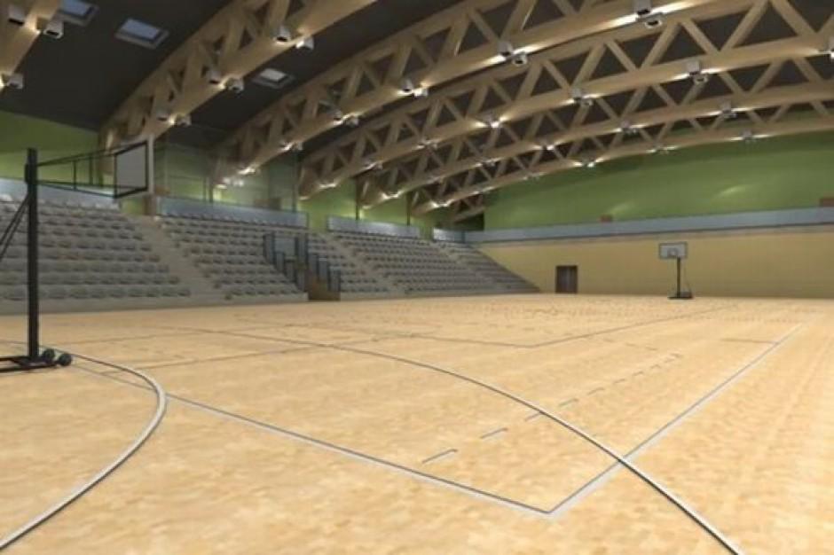 Hala sportowa w Chęcinach gotowa