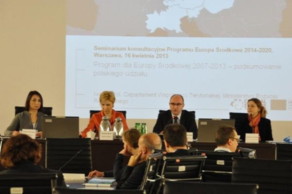 Kto liczy na Program dla Europy Środkowej?