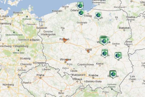 Pierwsza mapa punktów odbioru elektrośmieci