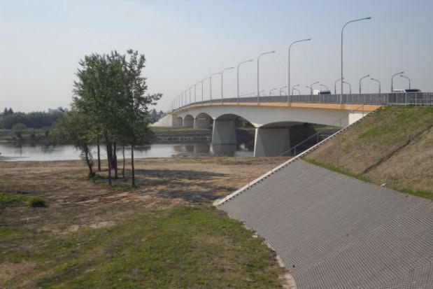 Stary most na Wiśle w Sandomierzu zamknięty