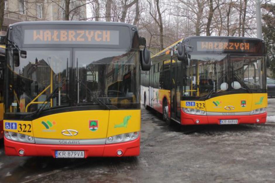 Coraz dalej wałbrzyskimi autobusami