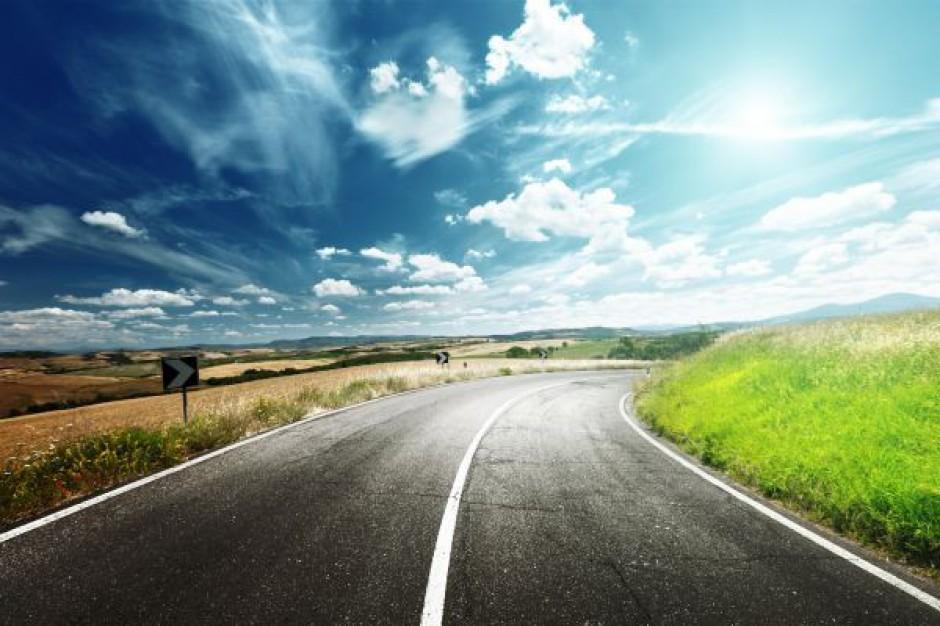 Przejezdna zmodernizowana droga nr 575