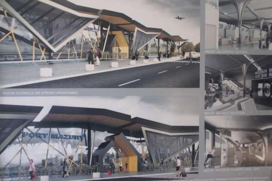 Jest projekt portu lotniczego w Szymanach