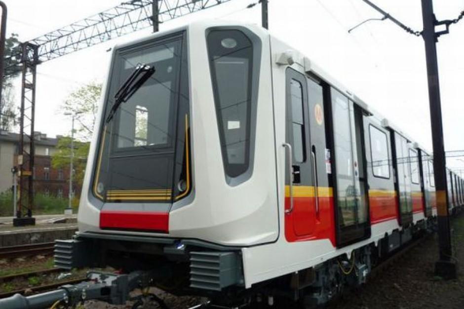 Trzeci pociąg dla metra już w stolicy