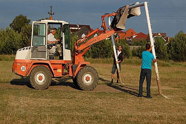 Plany powstania boiska piłkarskiego w Osowej