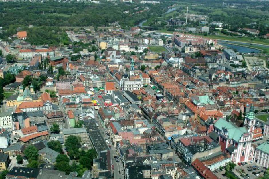 Centrum Poznania na makiecie