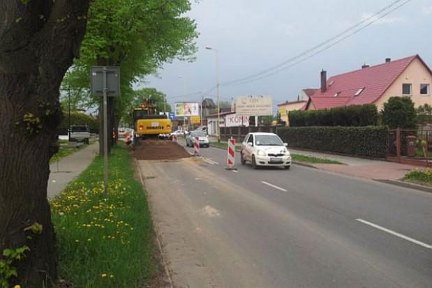 Budowa kanalizacji – korki w Mierzynie