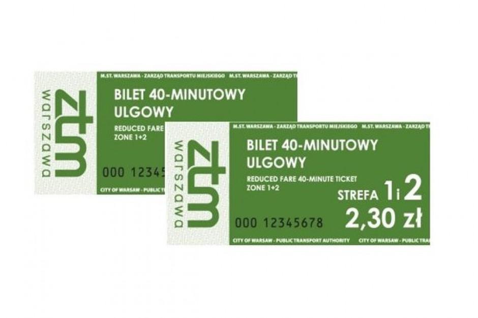 Kasowniki nie przyjmują warszawskich biletów minutowych