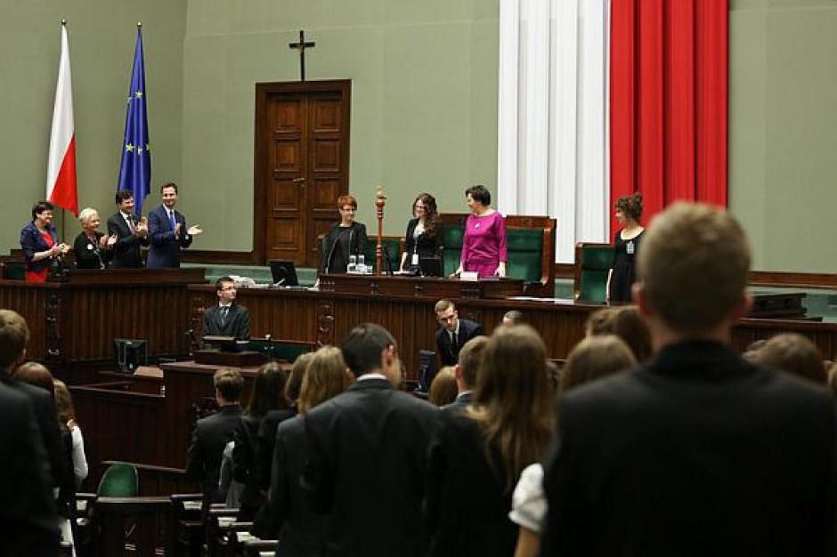 Sesja Sejmu Dzieci i Młodzieży