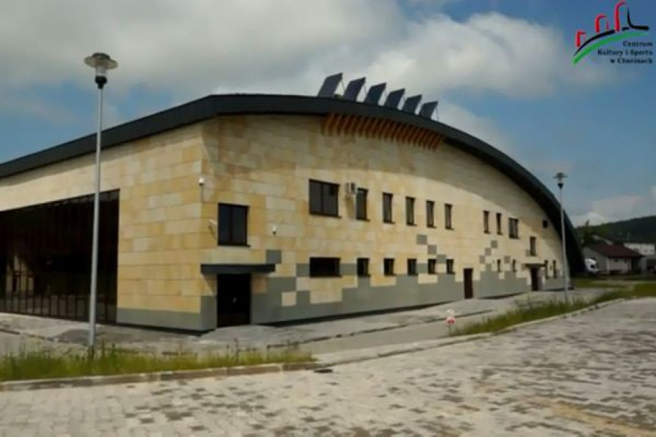 Sport i kultura w nowej hali w Chęcinach