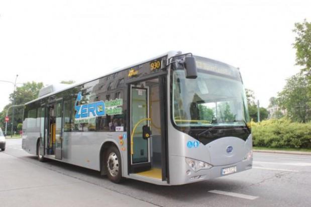 Warszawa testuje elektryczny autobus z Chin