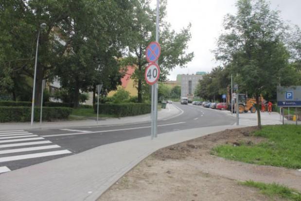 Remont ul. Makuszyńskiego w Wałbrzychu zakończony