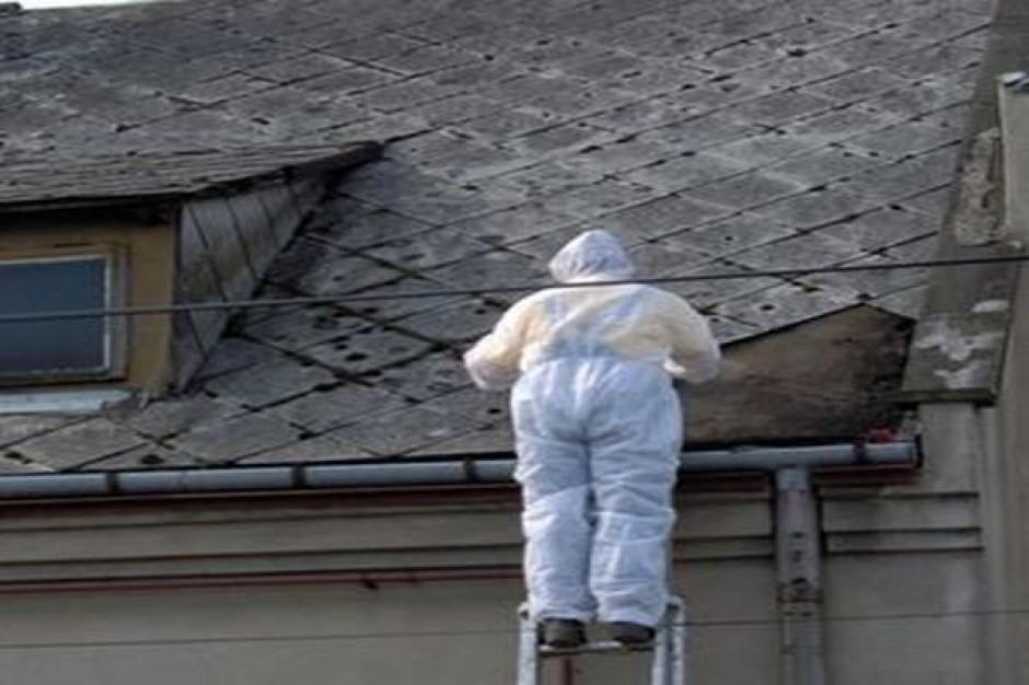 Za dużo azbestu na Dolnym Śląsku