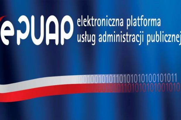 Apel o korzystanie z platformy ePUAP