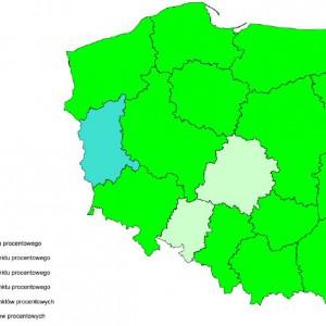 Spełnienie ustawowej relacji z art. 243 na 2014 r. przez województwa samorządowe.