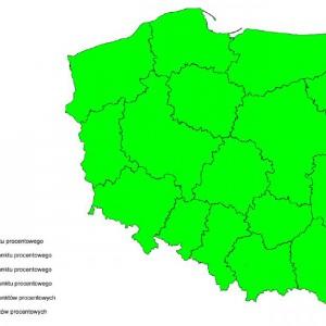 Spełnienie relacji z art. 243 na 2014 r. z uwzględnieniem składnika średniej z trzech lat zmodyfikowanej do postaci [Db-(Wb-O)+Dsm]/D przez województwa samorządowe.