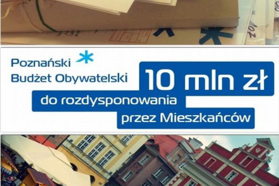 Poznański budżet obywatelski się przyjął
